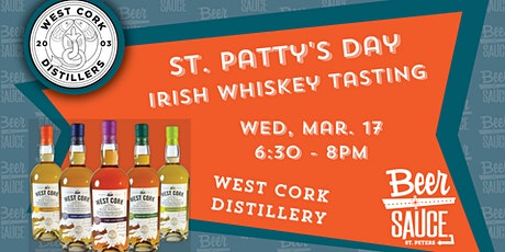 St. Patty's Irish Whiskey School and Tasting tickets
