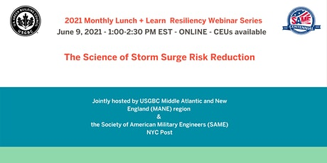 The Science of Storm Surge Risk Reduction tickets