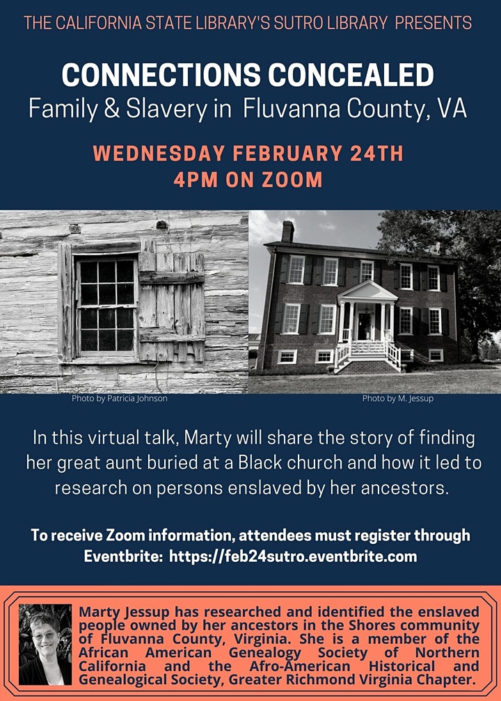 Connections Concealed: Family and Slavery in Fluvanna County, Virginia image
