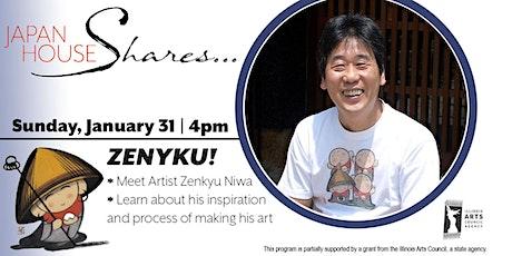 Japan House Shares ZENKYU! tickets