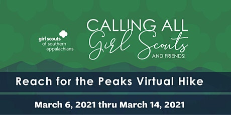 Reach for the Peaks Virtual Hike tickets