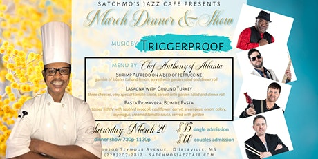 Satchmo's March Dinner & Show tickets