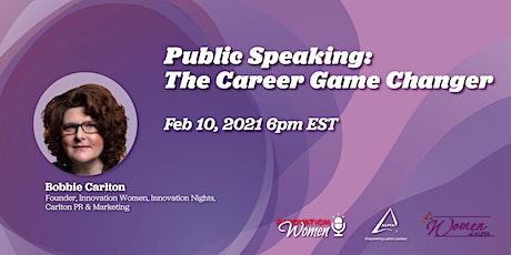Public Speaking – The Career Game Changer tickets