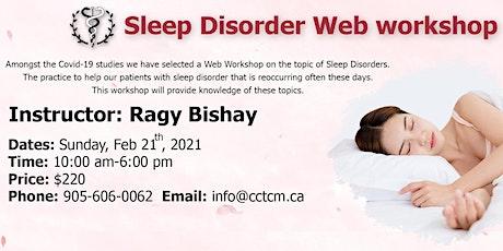 Sleep Disorder Web Workshop tickets