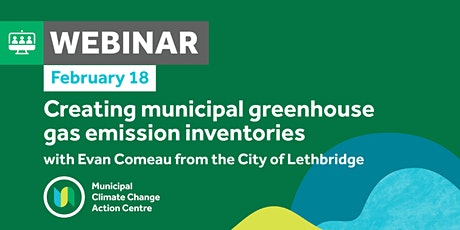 Creating Municipal  Greenhouse Gas Emission Inventories tickets