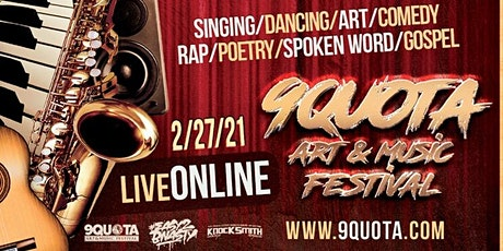 9Quota Art & Music Festival tickets