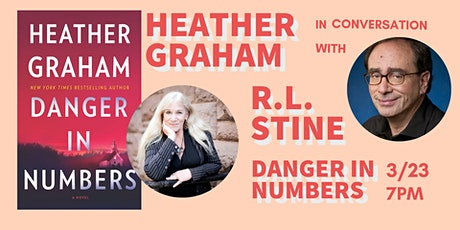 Join us on Crowdcast: Heather Graham in conversation with R.L. Stine tickets
