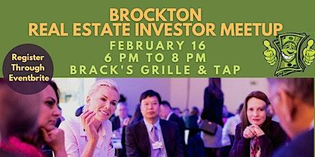 Brockton Real Estate Investor Meet Up tickets