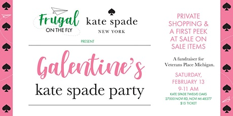 Galentine's Kate Spade Party | Frugal On The Fly Fundraiser tickets