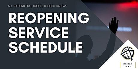 ANFGC Halifax Church Service tickets