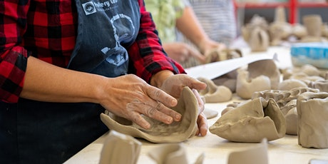 Adult Session 2: Intermediate Hand-building - THURS (MARCH 4 - APRIL 22) tickets