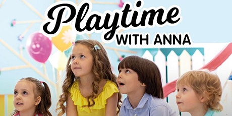 Playtime with Anna - Salamander Bay Square (Session 2: 10:45am-11:15am) tickets