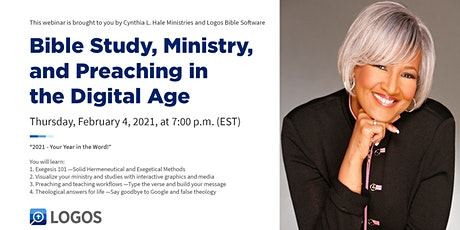 Bible Study, Ministry, and Preaching in the Digital Age tickets