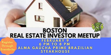Boston Real Estate Investor Meet Up tickets