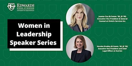 Women in Leadership Speaker Series with Noralee Bradley and Joanne Cox tickets