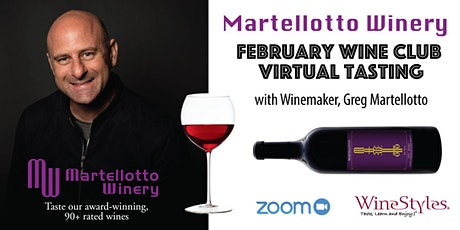 Martellotto Winery Tasting Event - Feb. 6th tickets