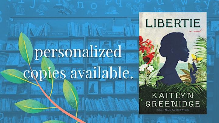Kaitlyn Greenidge with Brandon Taylor: Libertie image