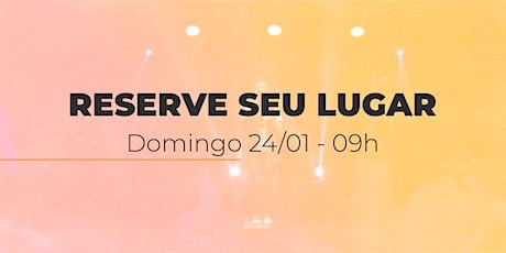 Culto de Domingo | 24/01 - 09h ingressos