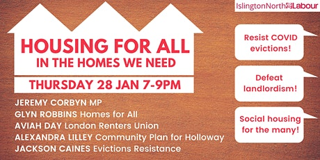 Housing For All in the Homes We Need tickets