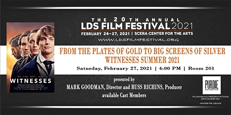 Filmmaking Presentations - WITNESSES tickets