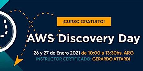 AWS Discovery Day GRATUITO!! entradas