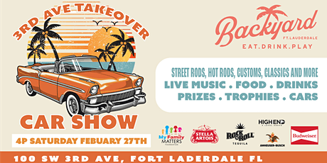 3rd Ave Takeover/Car Show tickets