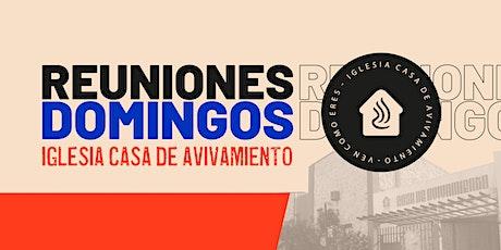 Servicio Presencial CDA 8:30am tickets