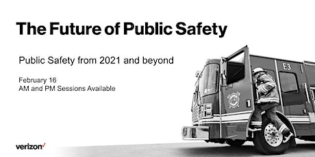 THE FUTURE OF PUBLIC SAFETY tickets