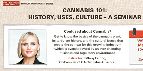 Cannabis 101:  Commerce, Culture & Compliance tickets