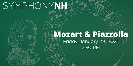 Virtual Event: Symphony NH, Mozart & Piazzolla tickets