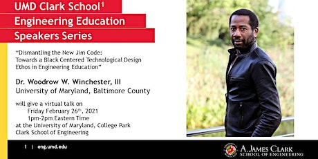 Dismantling the New Jim Code: Black Centered Design feat. Prof. Winchester, tickets