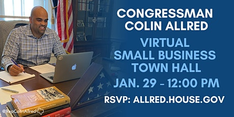 Rep. Allred's Small Business Town Hall tickets