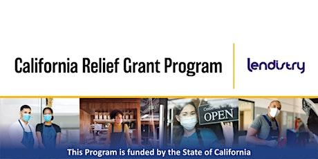 CA Relief Grant Webinar tickets
