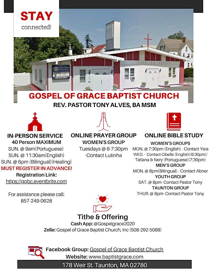Gospel of Grace Baptist Church Services image