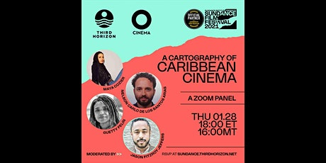 A Cartography of Caribbean Cinema tickets