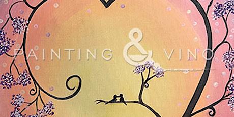 Online Painting Class - Valentine Tree tickets