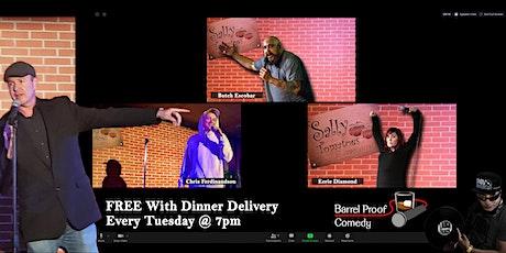 Tuesday Night (virtual) Comedy tickets