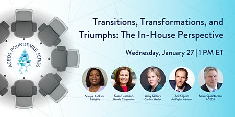 Transitions, Transformations, and Triumphs: The In-House Perspective tickets