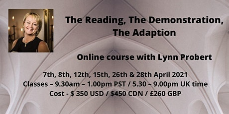 Lynn Probert Online Mediumship April 2021 tickets