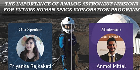 The Importance of Analog Astronaut Missions for Human Space Exploration tickets