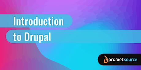 Introduction to Drupal 8/9 (1 Day) biglietti