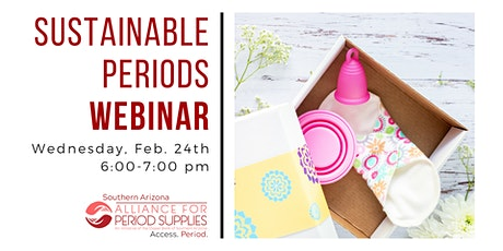 Sustainable Period Products Webinar tickets