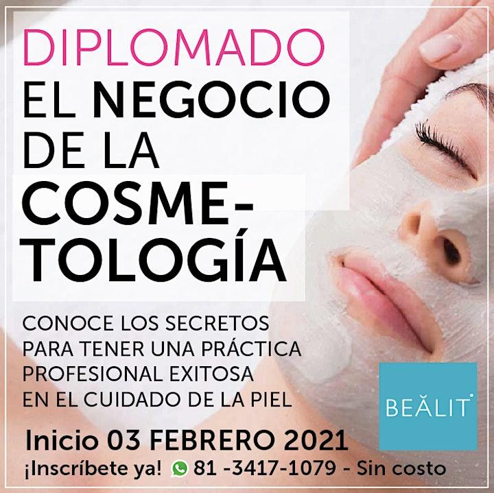 Diplomado EL NEGOCIO DE LA COSMETOLOGIA image