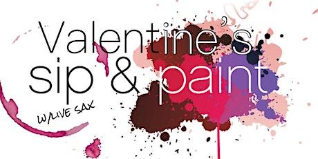 Sax. Sip. Paint. Valentine's Event tickets