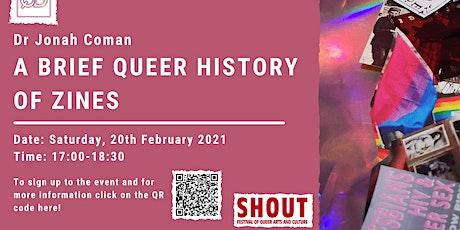 A Brief Queer History of Zines tickets