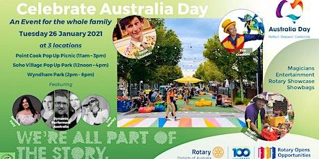 Rotary International - Australia Day Celebration - Wyndham Park tickets