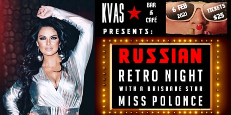 Russian Retro Night with Miss Polonce tickets