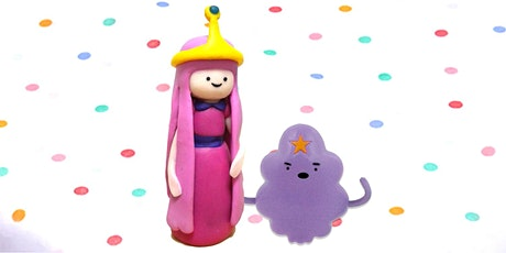 60min Princess Bubblegum & LSP Clay Sculpting Lesson @3PM (Ages 4+) tickets