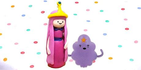 60min Princess Bubblegum & LSP Clay Sculpting Lesson @11AM (Ages 4+) tickets