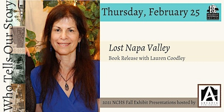 Lost Napa Valley Book Launch tickets